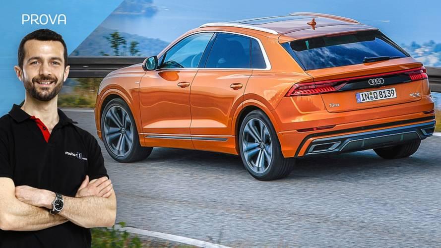 Audi Q8, felice di sorprendere