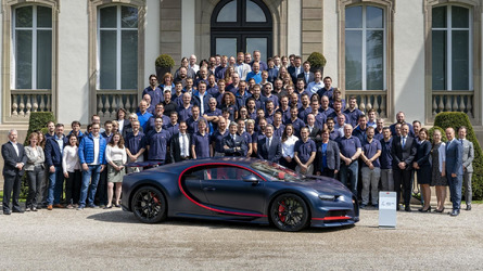 Bugatti Builds 100th Chiron And It Costs $3.34 Million