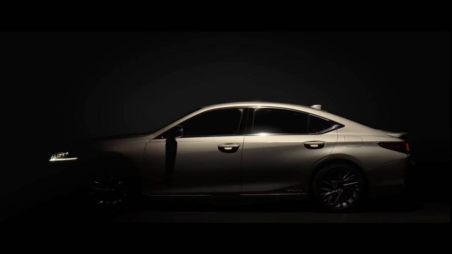 Lexus uncovers next-gen ES luxury sedan