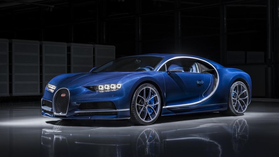 Videón, ahogy a Bugatti Chrion 0-ról 400 km/órára gyorsul