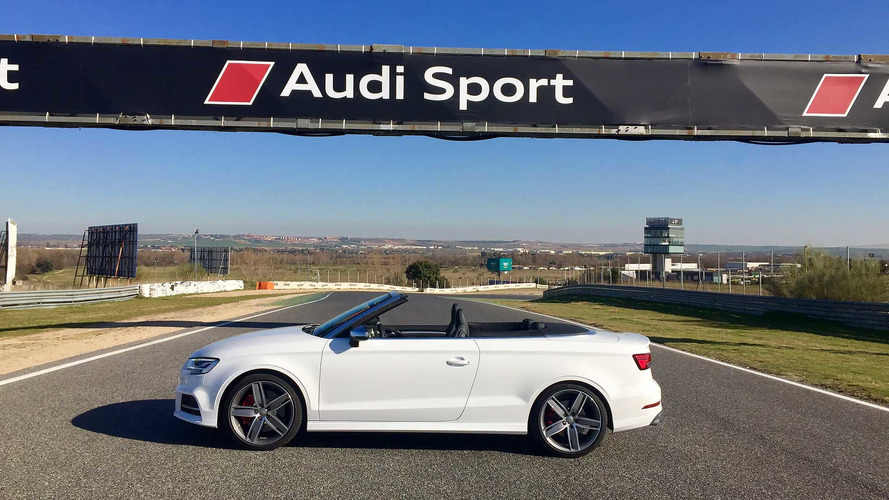 audi s3 cabrio 2017 prueba express a cielo abierto. Black Bedroom Furniture Sets. Home Design Ideas