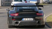 Porsche 911 GT2 2018, fotos espia