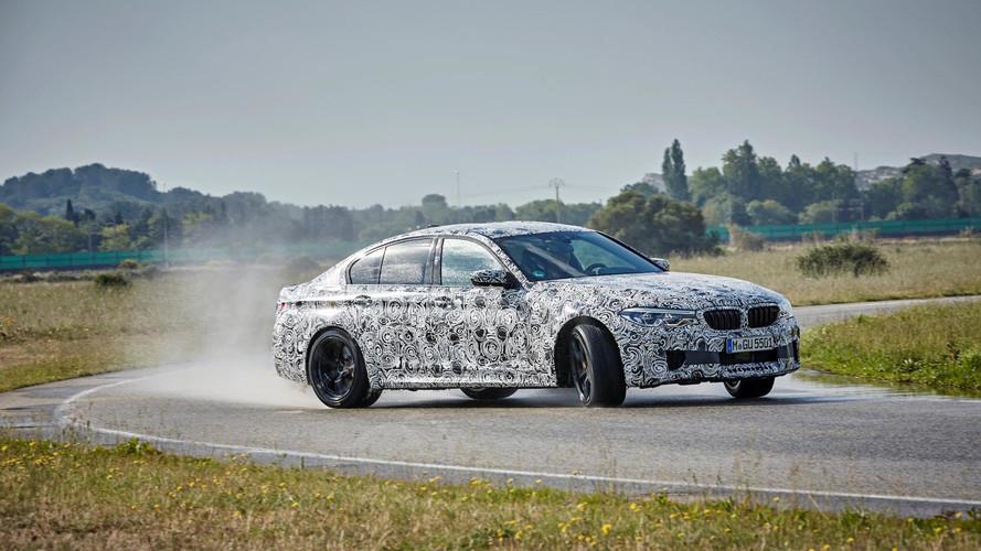 2018 BMW M5, RWD-AWD arasında geçiş yapabilecek