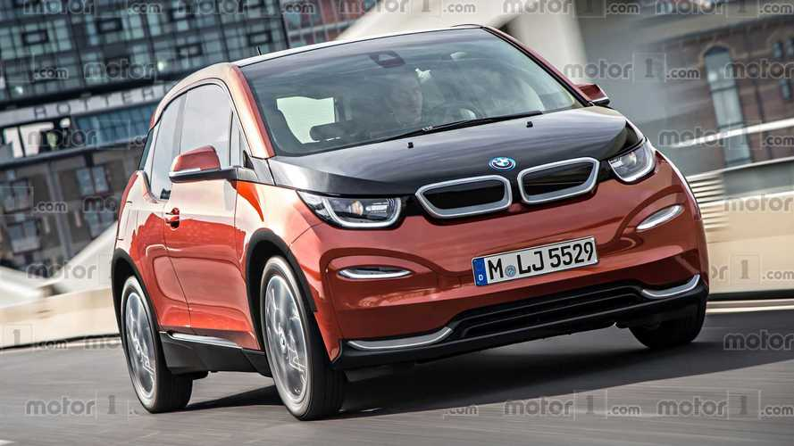 New BMW i3 Rendered With Subtle Styling Updates