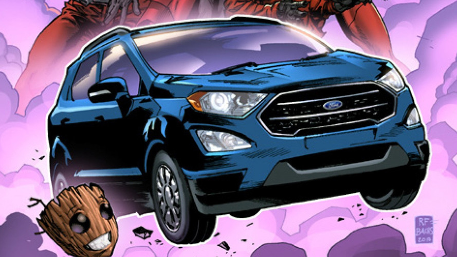 Ford EcoSport To Star In Guardians Of The Galaxy Vol. 2