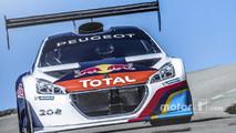 Sébastien Loeb tests the Peugeot 208 T16 Pikes Peak on the Mont Ventoux
