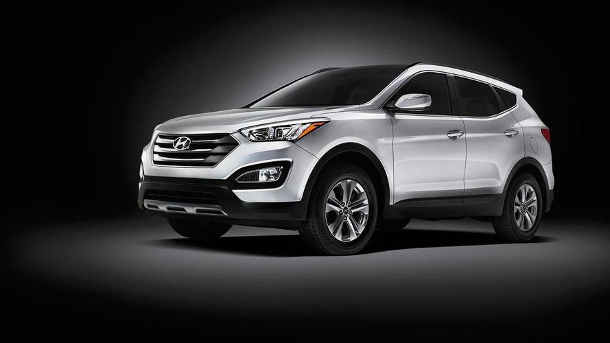 Hyundai Santa Fe and Santa Fe Sport get steering and suspension tweaks for 2015MY