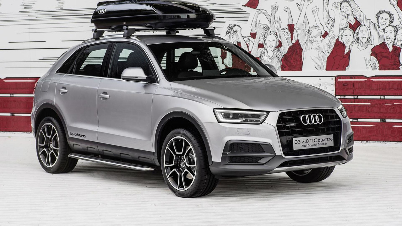 Audi Q3 with offroad style package