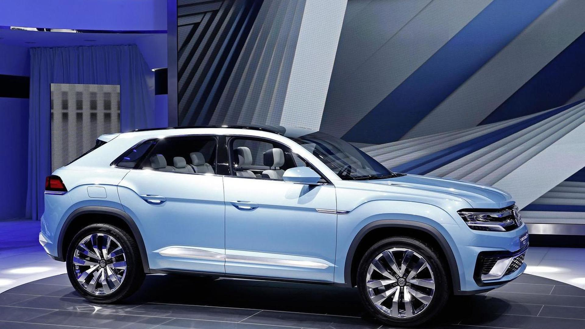 Vw Cross Coupe Gte Release Date >> Volkswagen Cross Coupe Gte Concept Unveiled