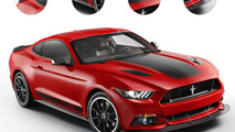 Ford Mustang Mach 1 gets rendered