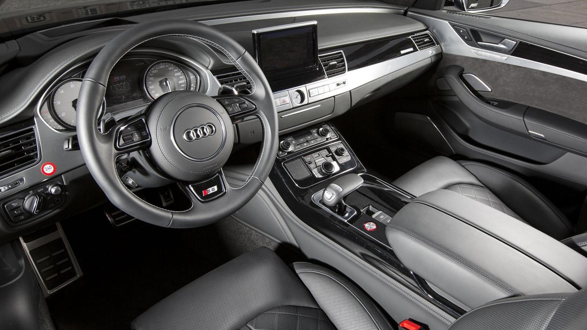 Кожаный салон Audi S8 от ABT Sportsline