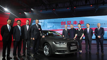 Audi-FAW Plug-in Hybrid announcement 25.7.2013