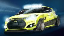 Hyundai Yellowcake Veloster Turbo 30.9.2013