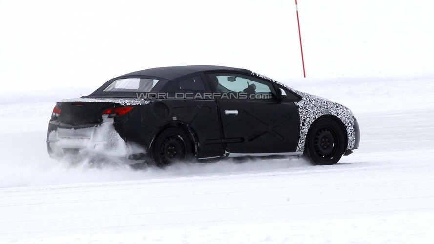 2013 Opel Astra Cabrio spied in Sweden