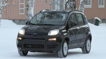 2013 Fiat Panda 4x4 caught in the snow