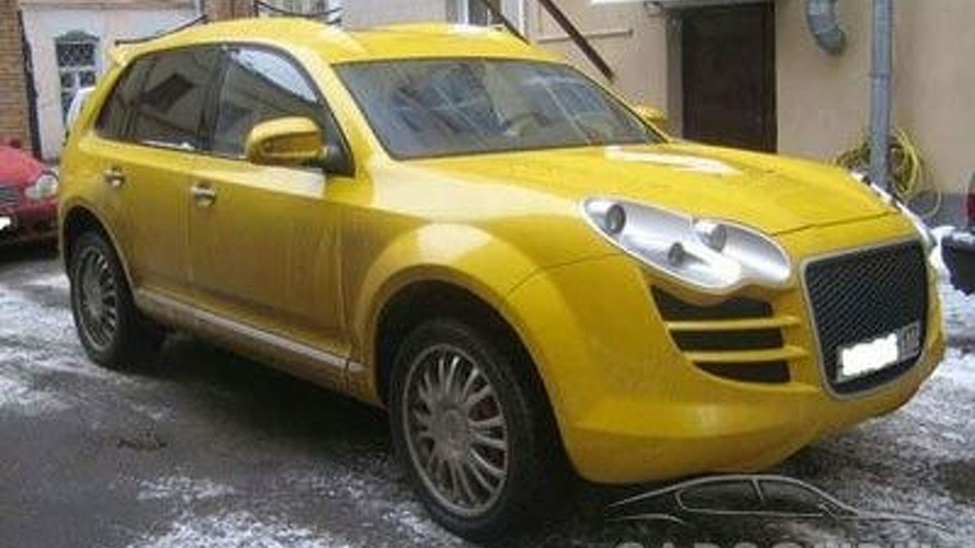 Is it a Touareg or a Cayenne?