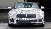 BMW Z4 Production Lights Spy Photos