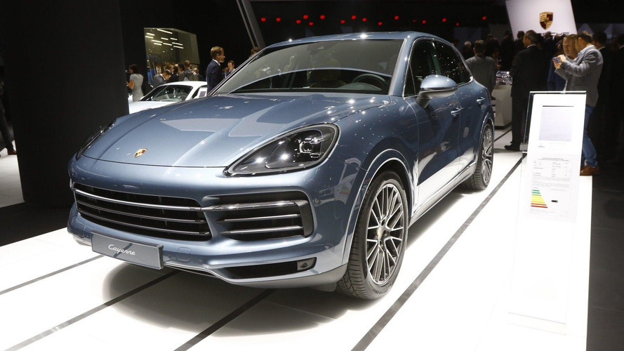 2018 Porsche Cayenne Turbo official images