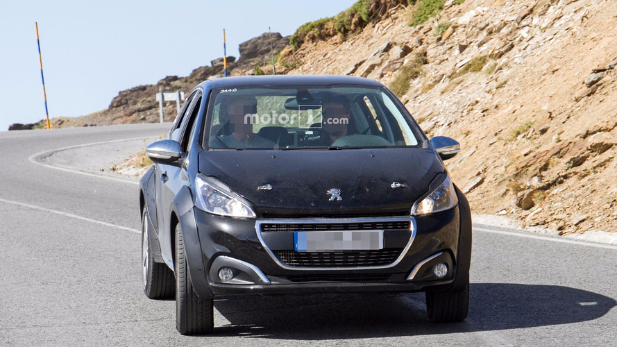 Possible Peugeot 1008 spy photos