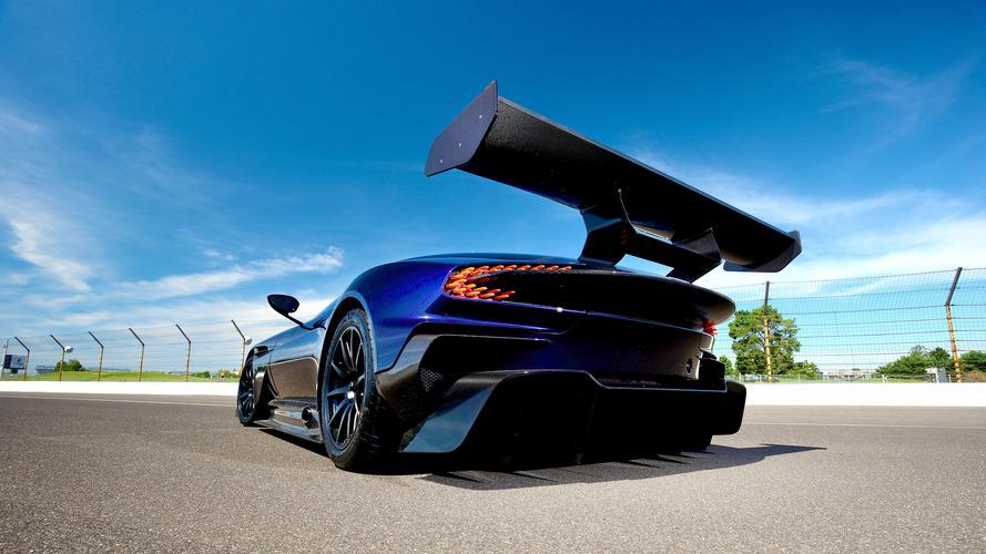 Yola çıkma izni olan ilk Aston Martin Vulcan görüntülendi