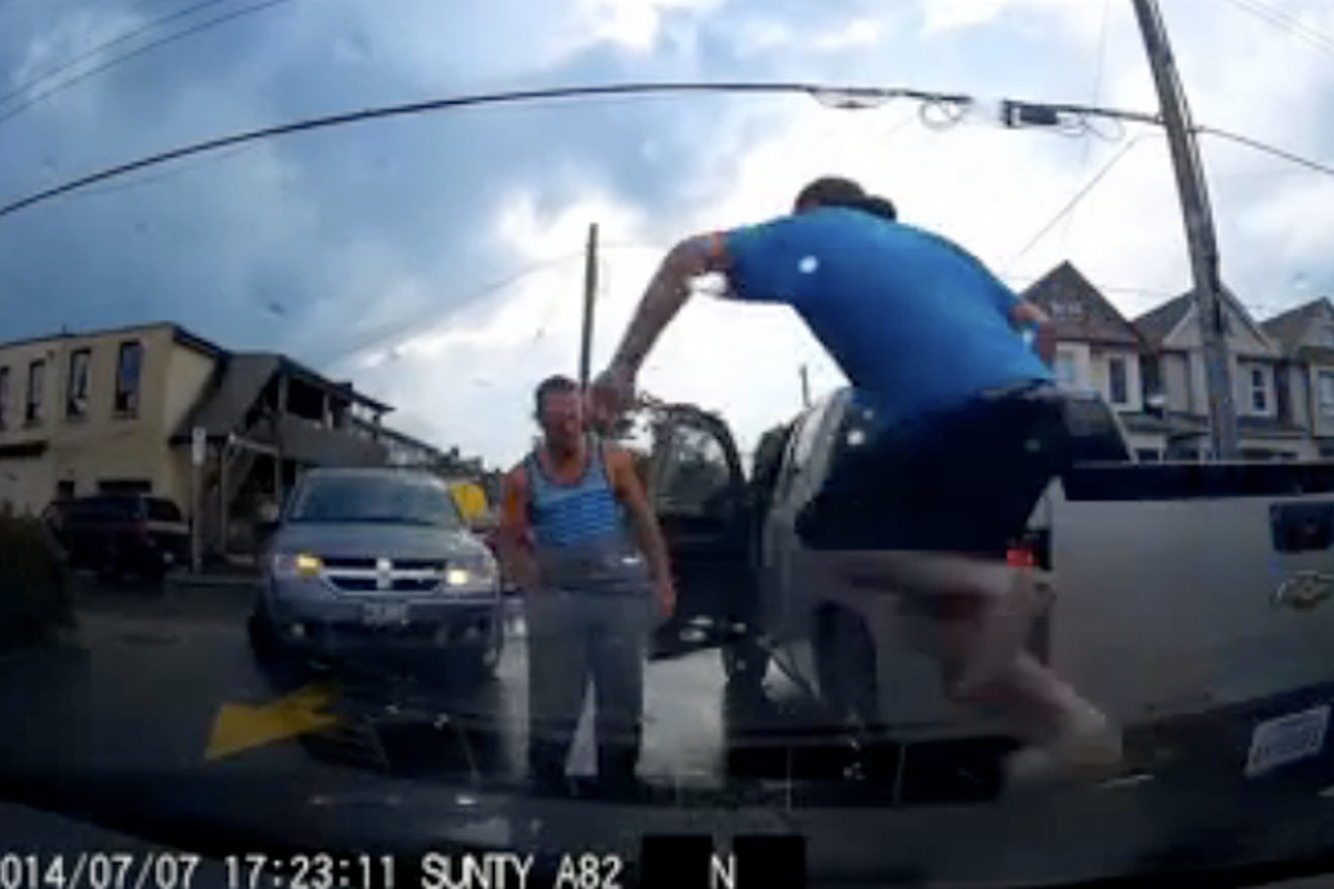 Dashcam Footage Saved a Canadian Man from Insurance Fraud