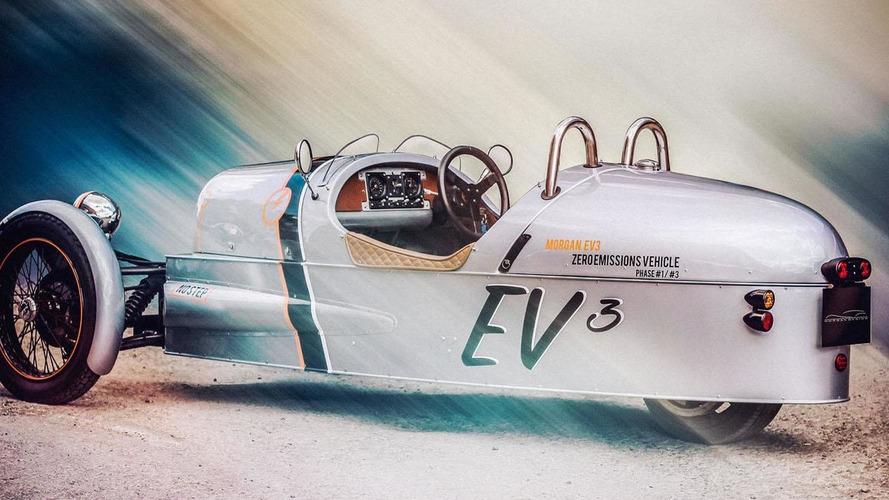 Morgan EV3 announced for Goodwood