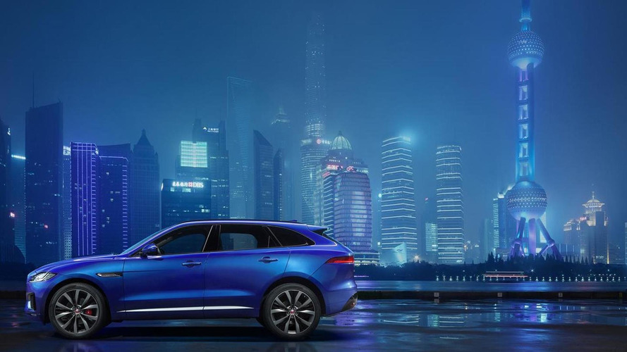 Jaguar F-Pace side profile officially revealed prior to IAA debut [video]