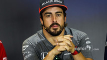 Fernando Alonso, McLaren in the Press Conference