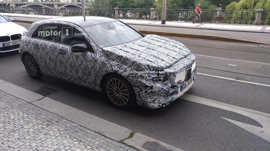 Okurumuz Mercedes A Serisi'ni Prag'da yakaladı