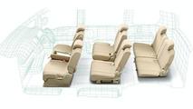 New Nissan Serena - Seating