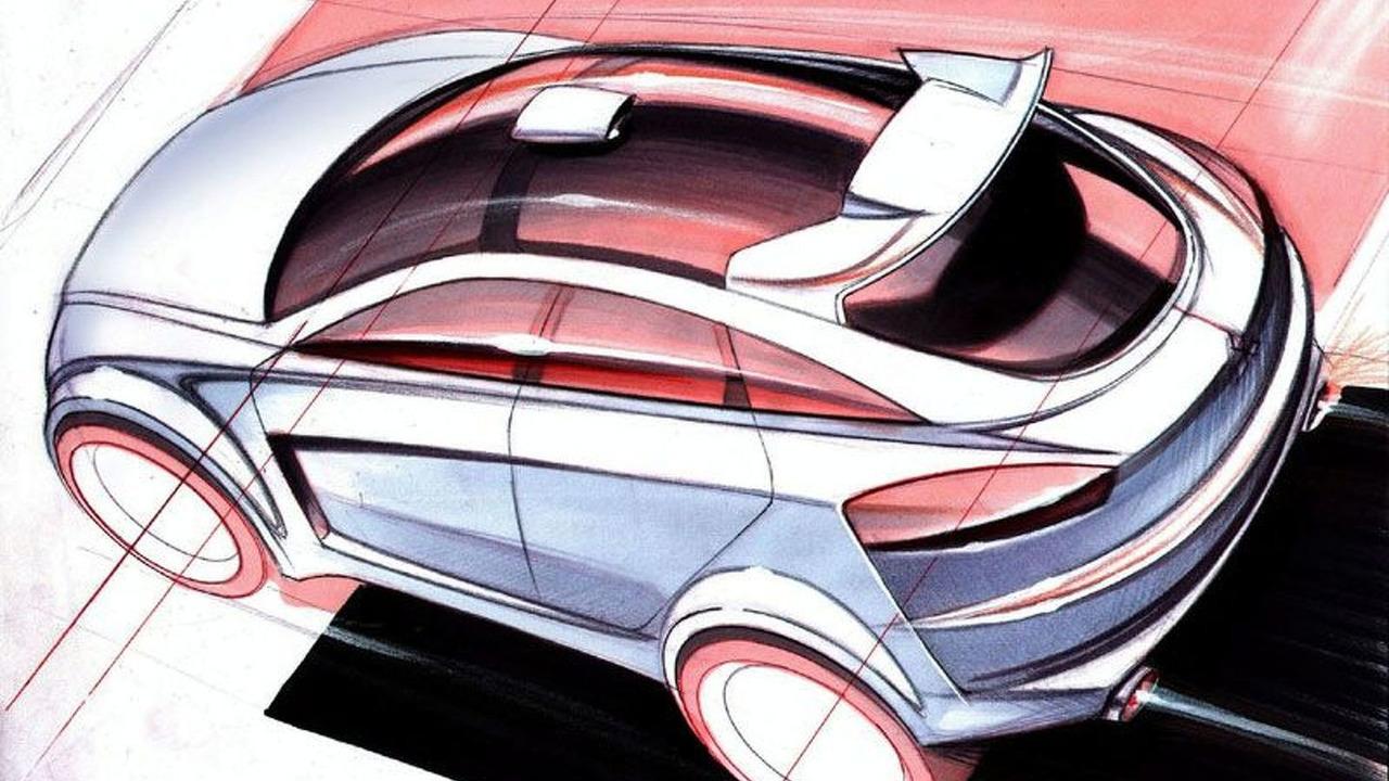 Mitsubishi Concept Sportback sketch