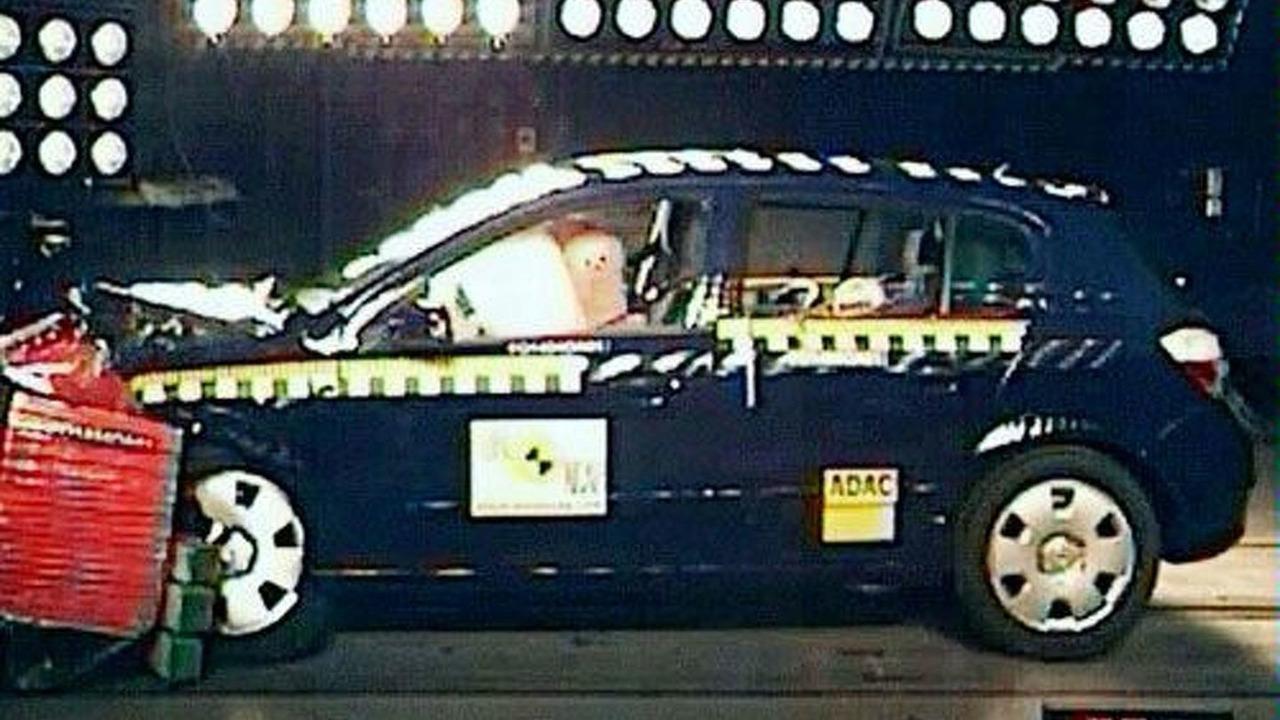 Opel Astra crash test