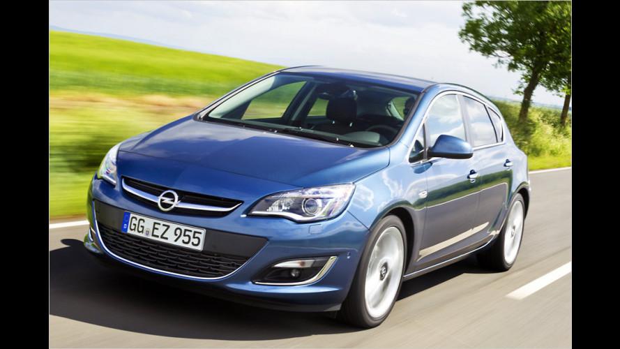 Opel Astra: Einstieg billiger