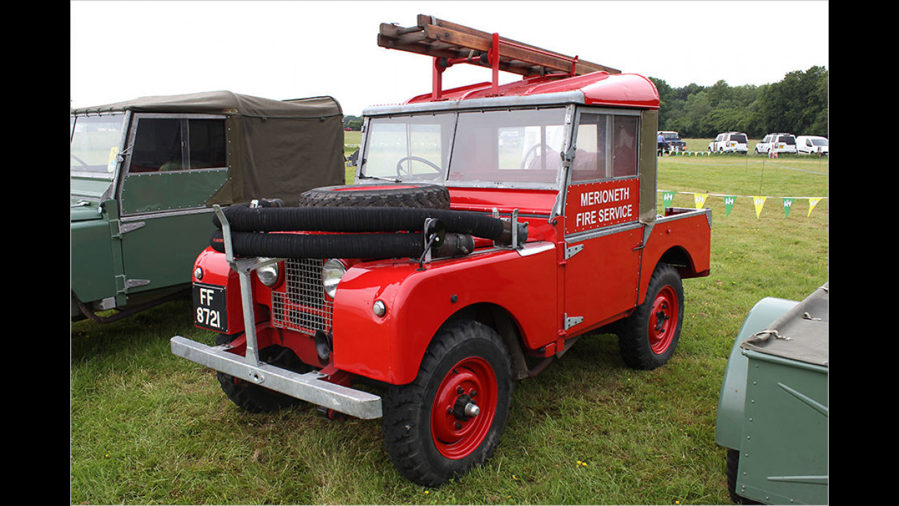 Land Rover Fire Service