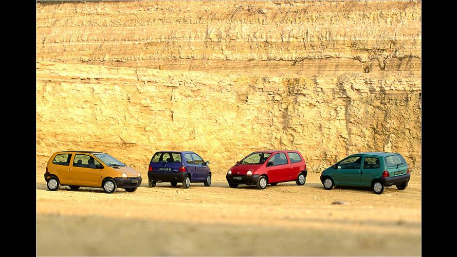 Renault Twingo im Rückblick: 20 pfiffige Jahre