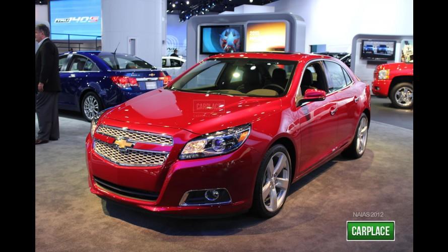 Chevrolet Malibu Turbo 2013 terá preço inicial equivalente a R$ 56.824,00 nos Estados Unidos