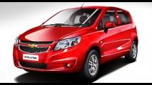 Chevrolet lança oficialmente o Sail U-VA na Índia