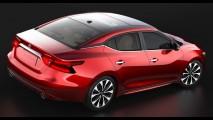 Nissan Maxima, que não vem ao Brasil, aparece em primeiras fotos oficiais