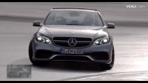 VÍDEO: O ronco do V8 do novo Mercedes E63 AMG