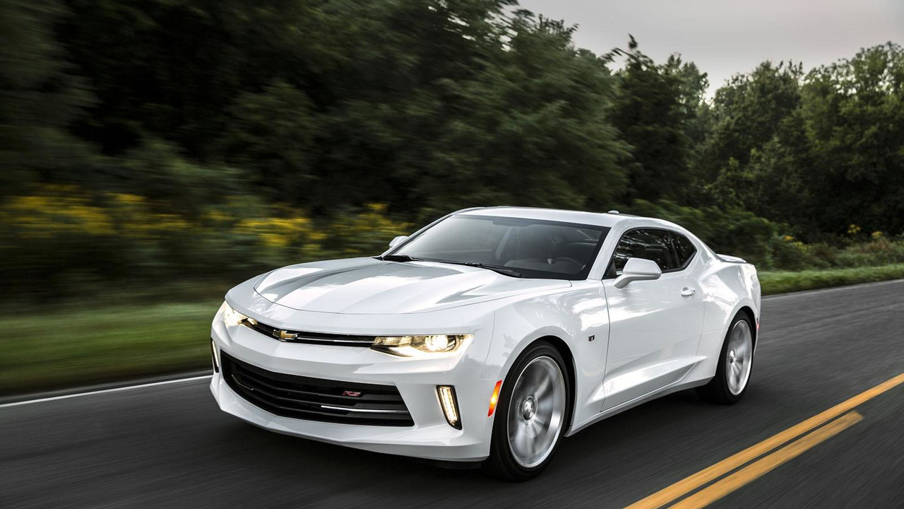 2016 Chevrolet Camaro performance parts