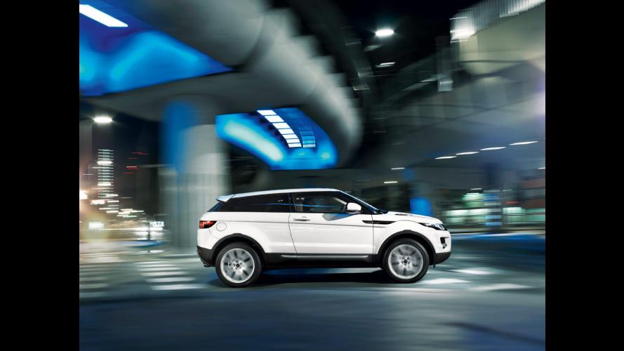 Range Rover Evoque si svela a Parigi