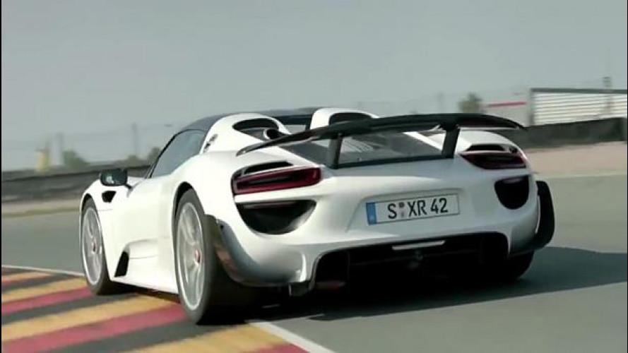 Porsche 918 Spyder, il canto dell'ibrida [VIDEO]