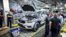 Volvo XC40 2018 comienza la producción