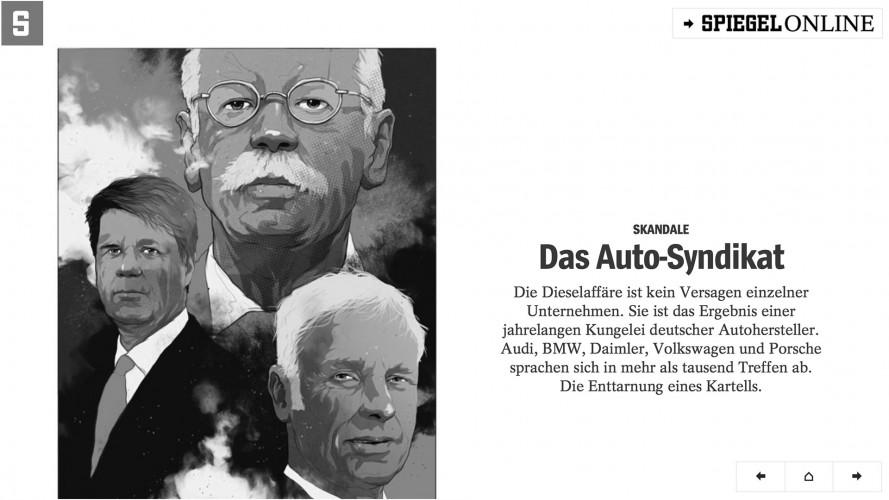 Der Spiegel: c'è un cartello fra le case automobilistiche tedesche