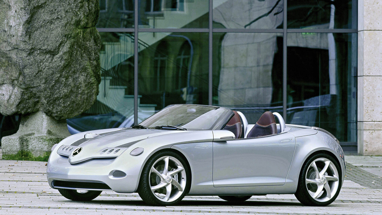 Mercedes A-Klasse: Vision SLA