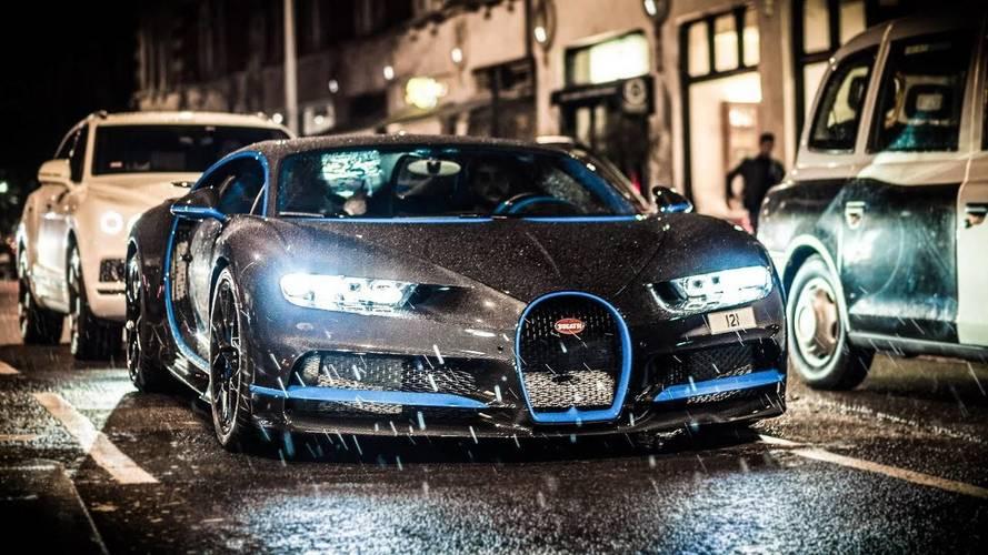 Karbon fiber gövdeli Bugatti Chiron baştan çıkarıcı görünüyor