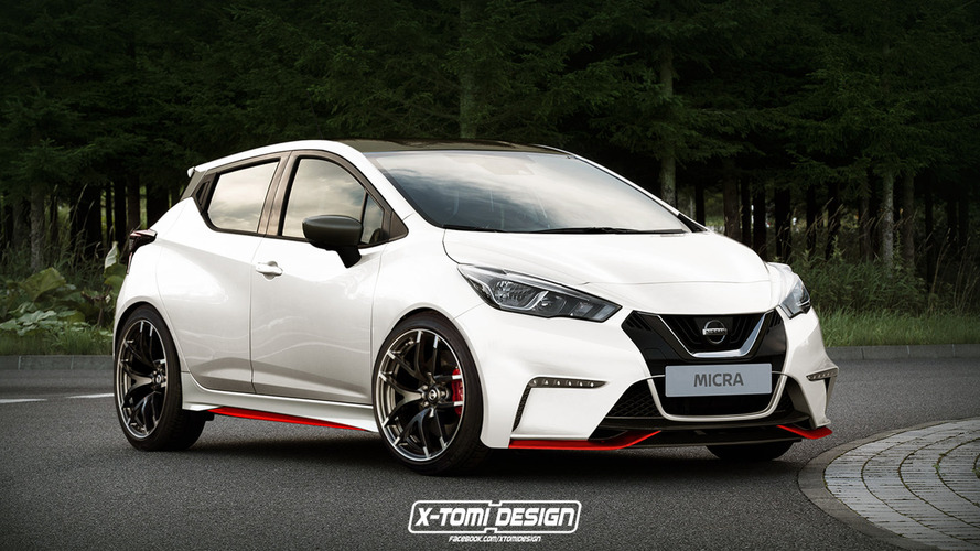 Nissan Micra looks even hotter rendered in Nismo garb