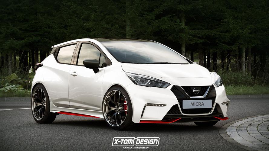 Nissan Micra, Nismo yorumuyla daha da ateşli görünüyor