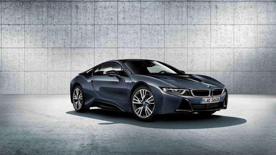 Sınırlı sayıda üretilen BMW i8 Protonik Koyu Gümüş Versiyonu Paris'te tanıtılacak