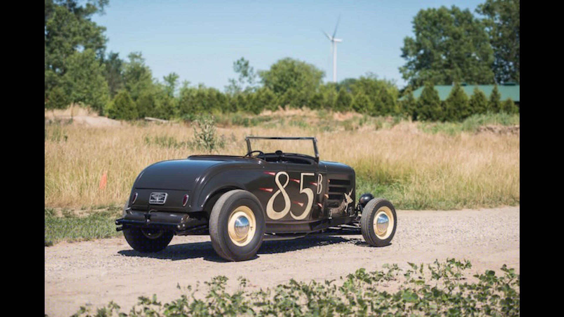 1932 Ford \'Hi-Boy\' Roadster is Hot-Rodding Done
